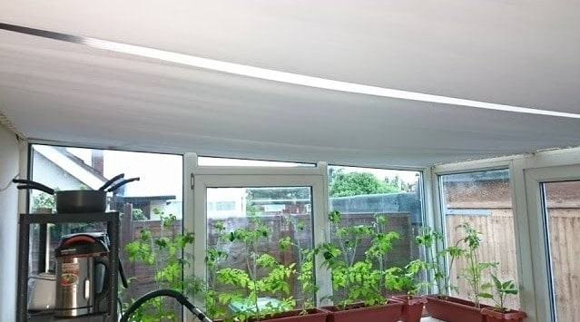 sew conservatory roof blinds