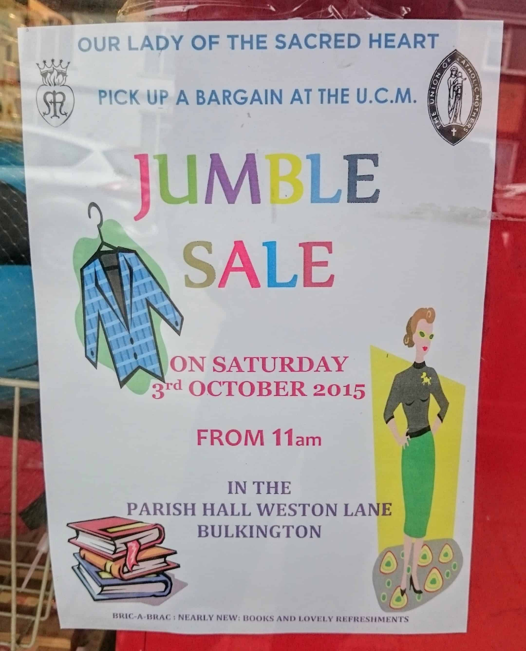Fantastic Jumble Sales and Where to Find Them:  Shopping & Saving Money