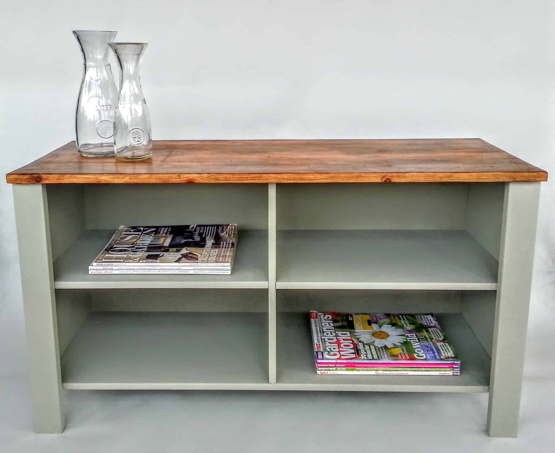 Ebay Bargain Pine TV Stand: A Painting Project