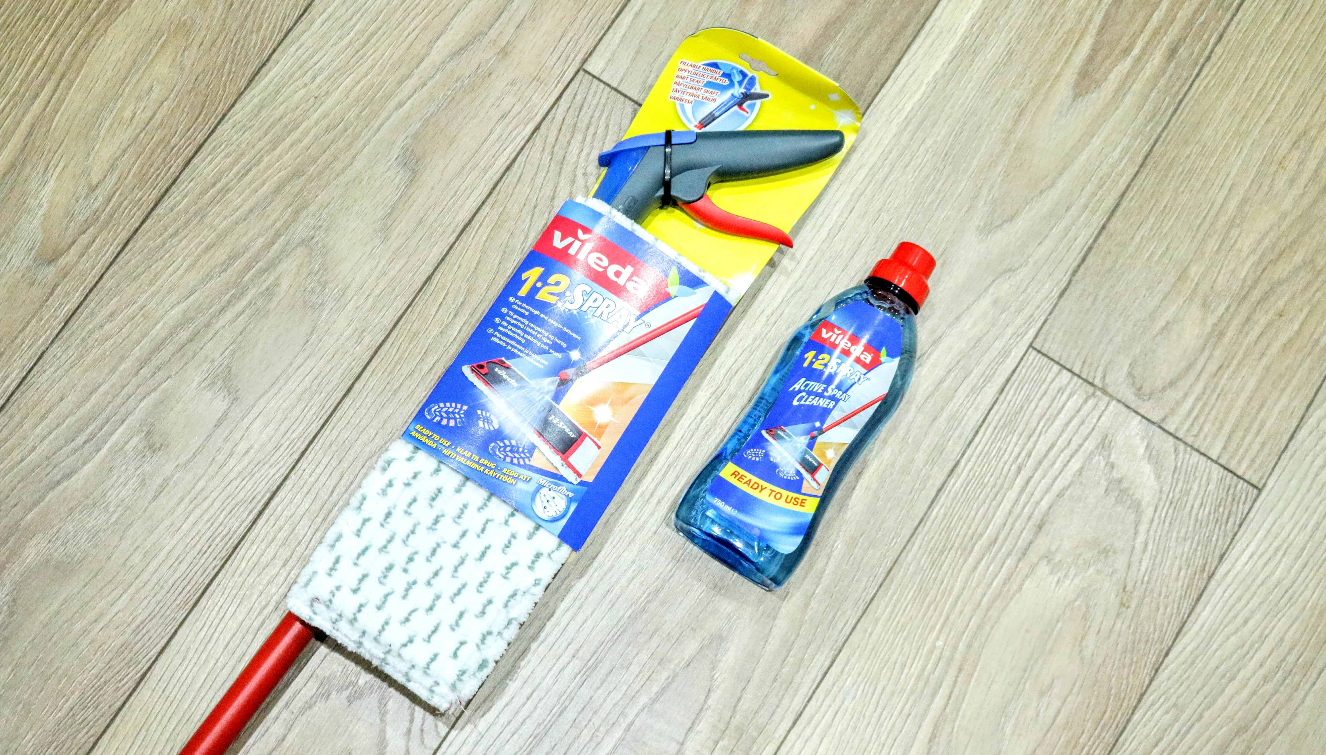Cleaning Laminate Flooring: Vileda 1.2 Spray Mop Review