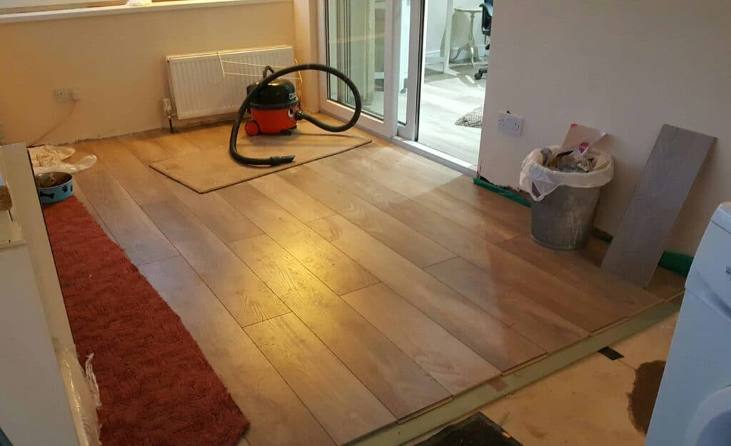 Fitting Bq Laminate In The Conservatory