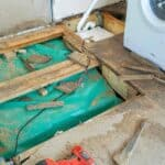 Repairing Water Damaged Floorboards