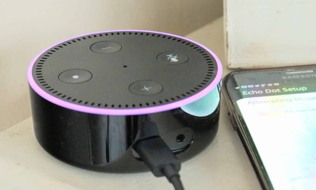 Amazon Echo Dot 2: Trying to Embrace Technology
