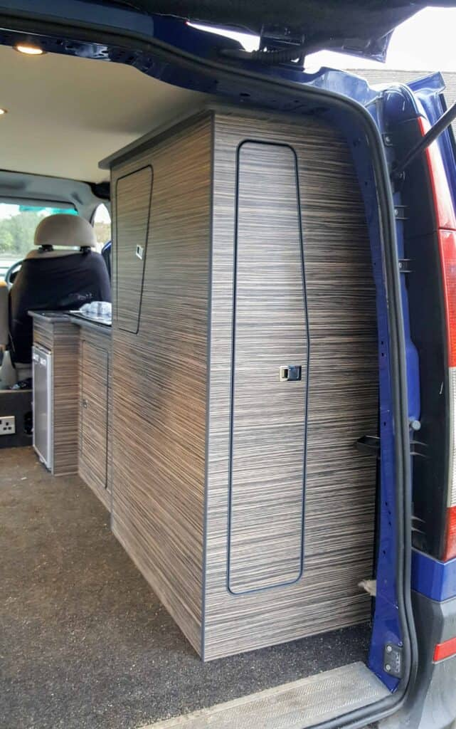How to Scribe a Camper Van Kitchen Featuring Mercedes Vito