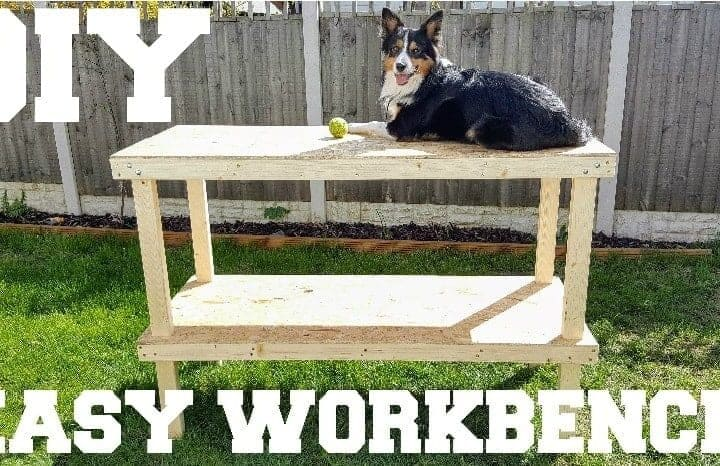 How to Make an Easy DIY Workbench