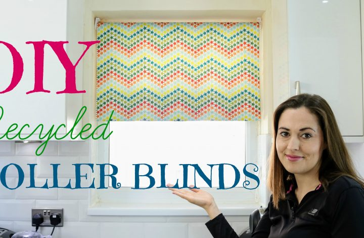 How to Recycle DIY Roller Blinds