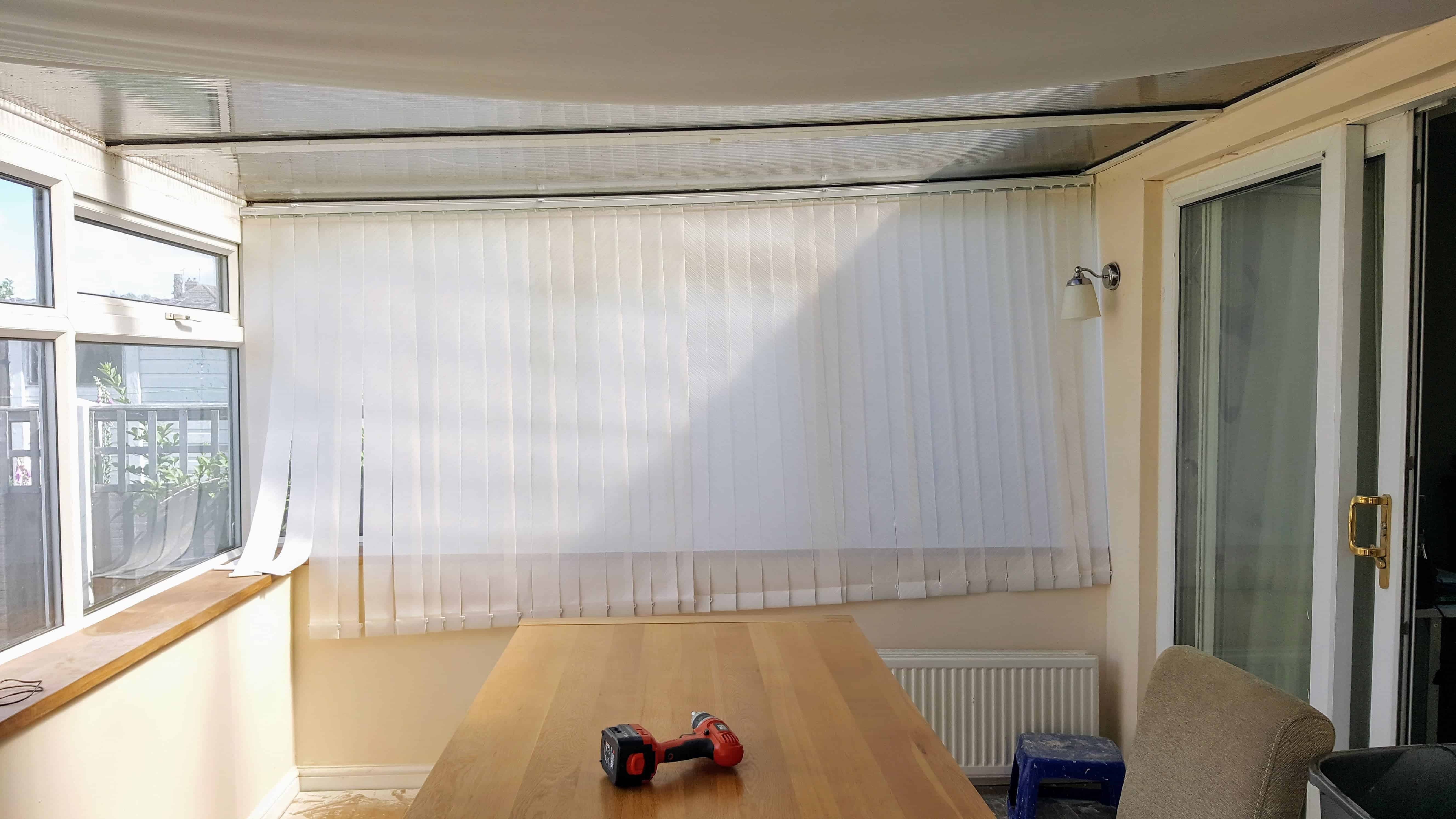 blind corded to guides thick aluminum cheap coils window blinds find cut measure get quotations for essentials bali shopping