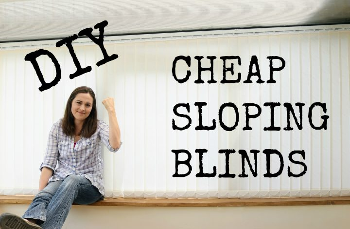 Fit Your Own Easy Sloping Window Vertical Blinds & Save £1350+