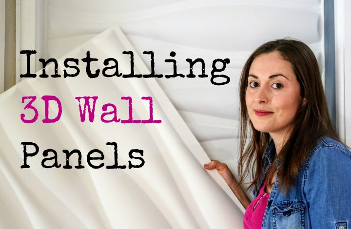 Installing 3D Wall Art Panels Easily
