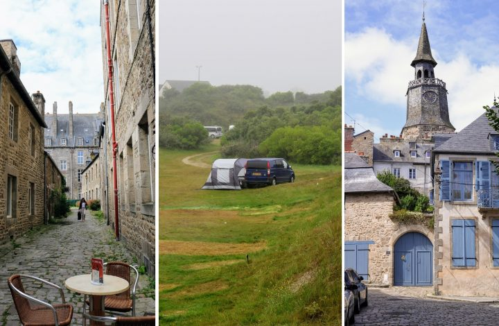 DIY Camper Van France Road Trip with Dog Part 1