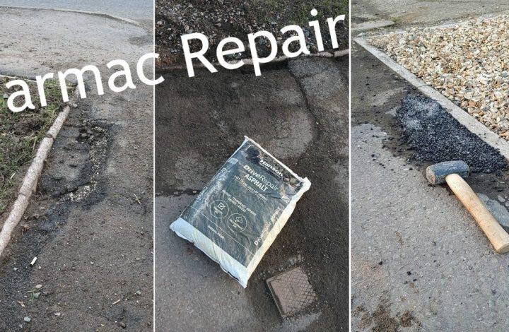 Low Cost & Easy Tarmac Driveway Repair