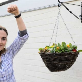 How to Install Flower Hanging Baskets
