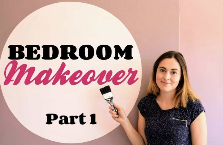 Bedroom Makeover: Painting a Room