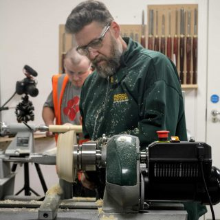 Learning Woodturning with Record Power
