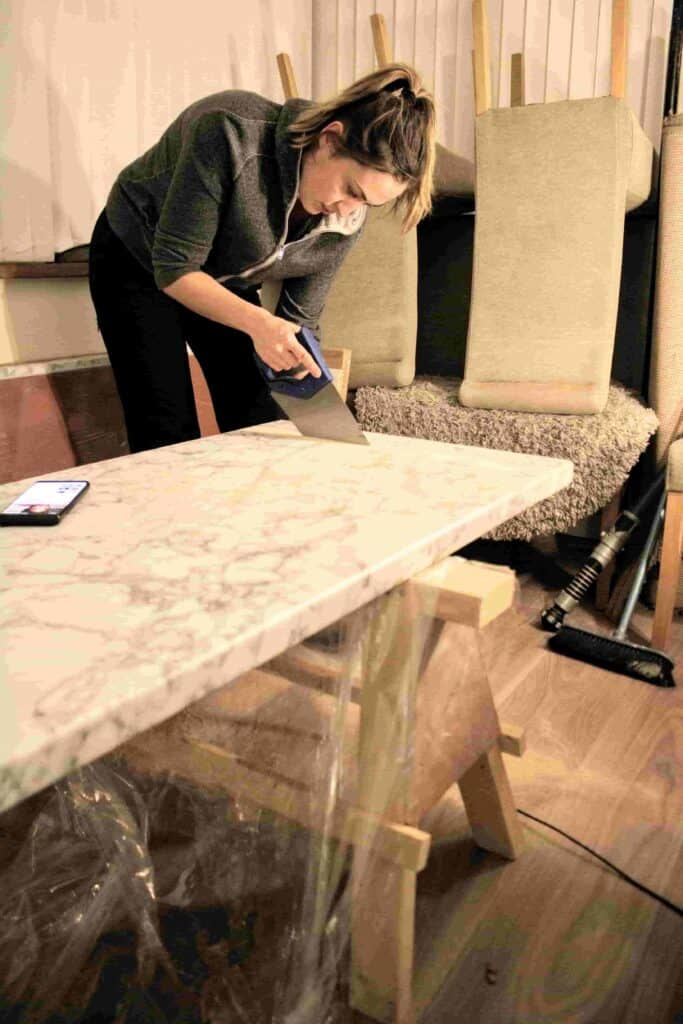 How to Cut a Worktop With a Hand Saw & Add Edging Tape