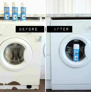 Before & After Rustoleum Appliance Enamel Spray Paint Review