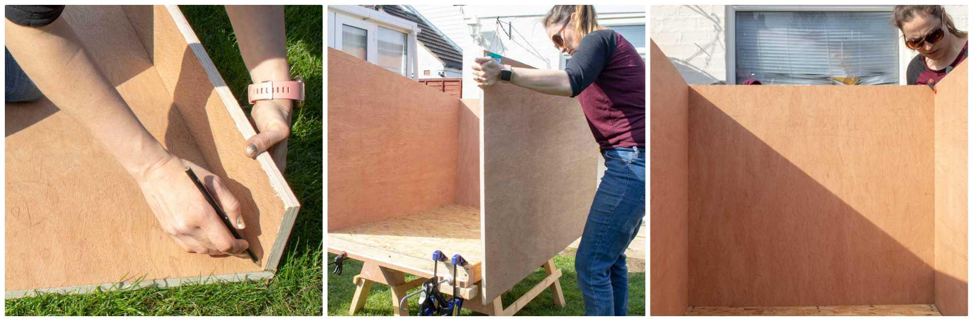 building dog kennel