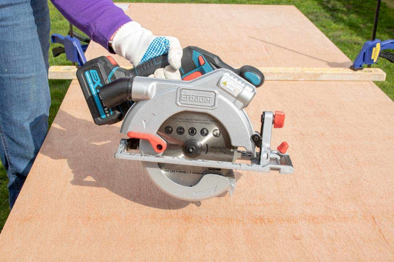 erbauer cordless circular saw from B&Q