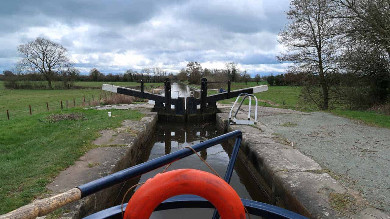 narrowboat hire on Shropshire union canal