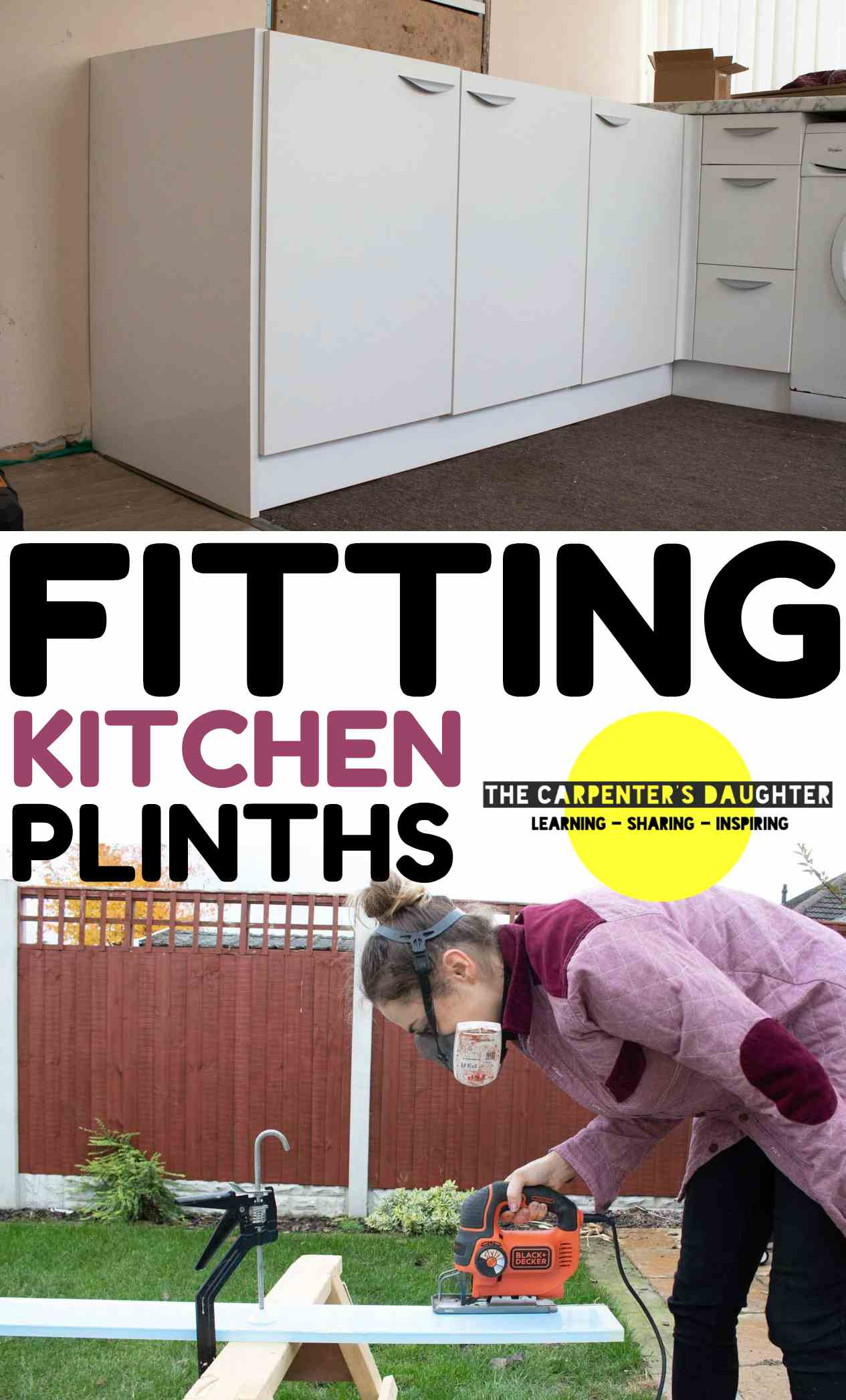 how to fit a kitchen plinth pin