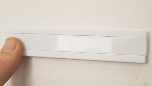 screw plate on freezer door slider
