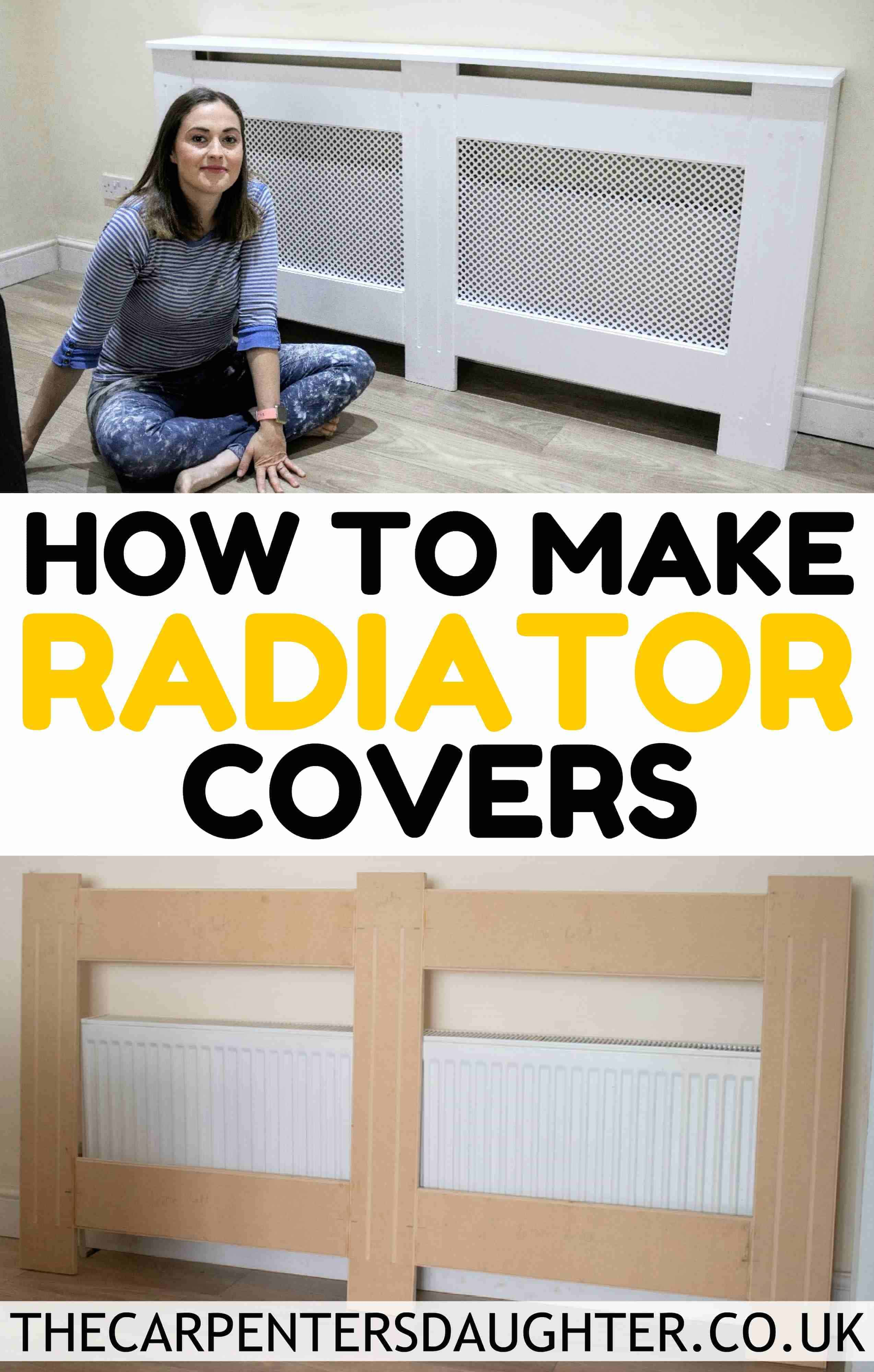 How To Make An Easy Radiator Cover The Carpenter S Daughter