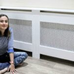 the carpenter's daughter with diy radiator cover