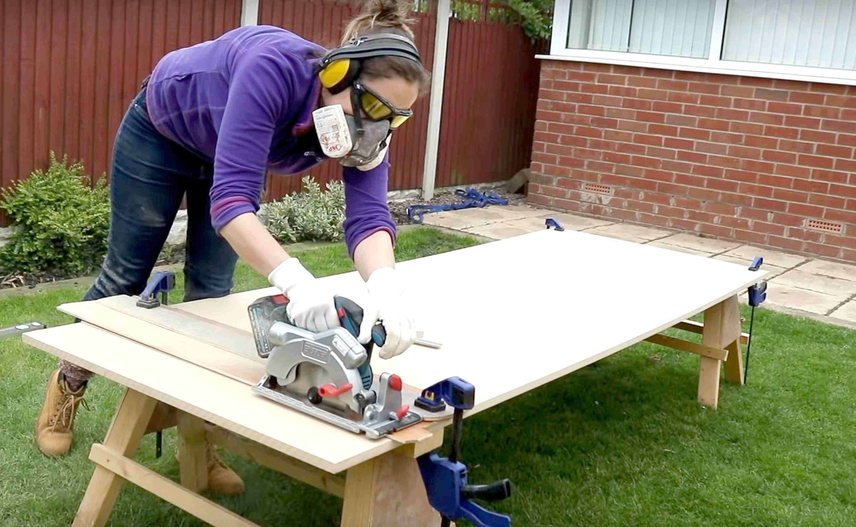 How to Make an Easy Radiator Cover - The Carpenter's Daughter