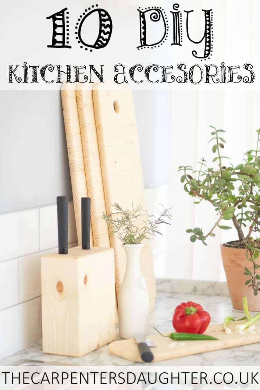 10 Easy DIY kitchen accessories to make
