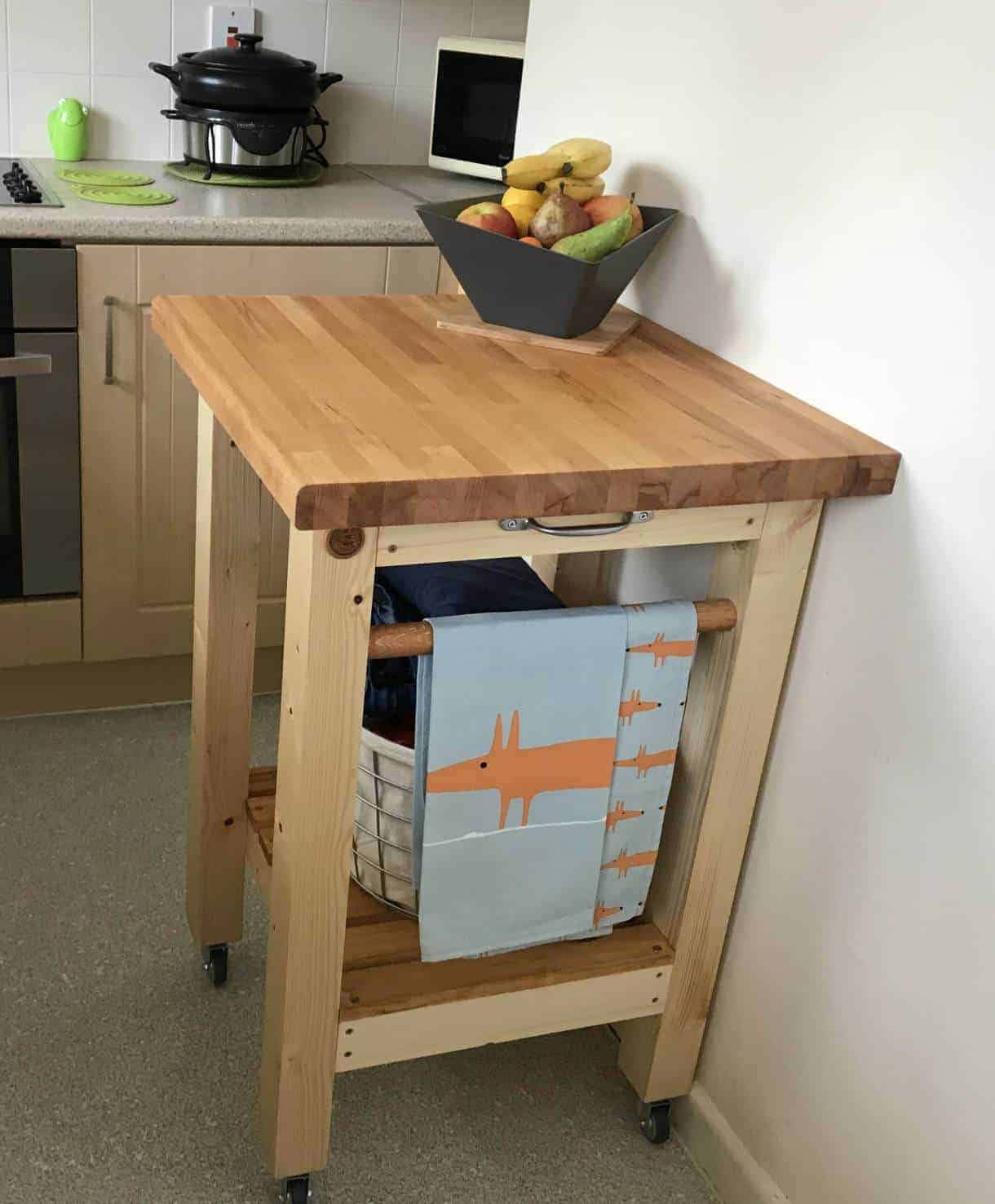 £50 DIY kitchen trolley