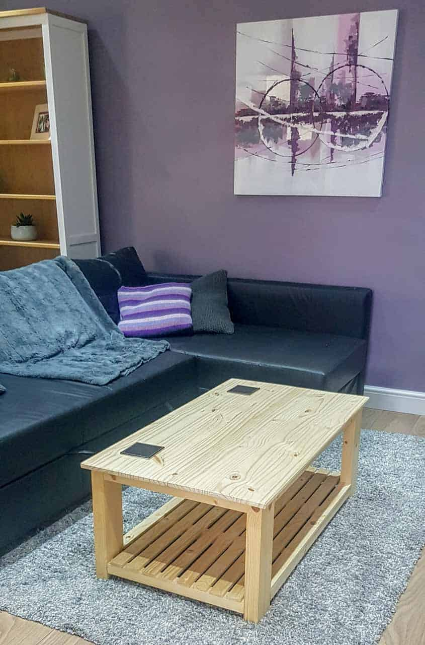 diy coffee table inspired by IKEA Havsta