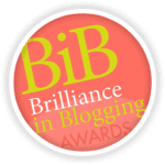 Britmums Brilliance in Blogging Award